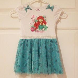 Disney Ariel birthday dress size 4T